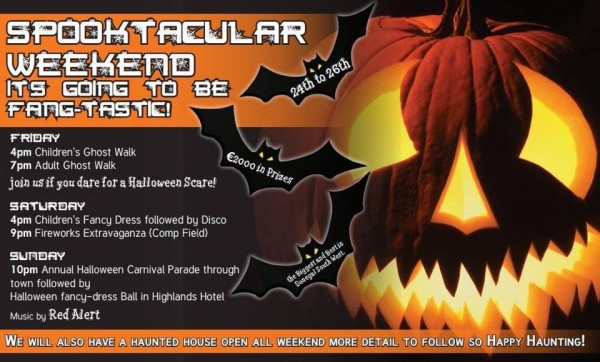 Glenties Halloween Weekend 2014