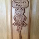 Irish Dancing Personalised Door Plaque Wood Dancer Kids Girl Bedroom Sign Gift